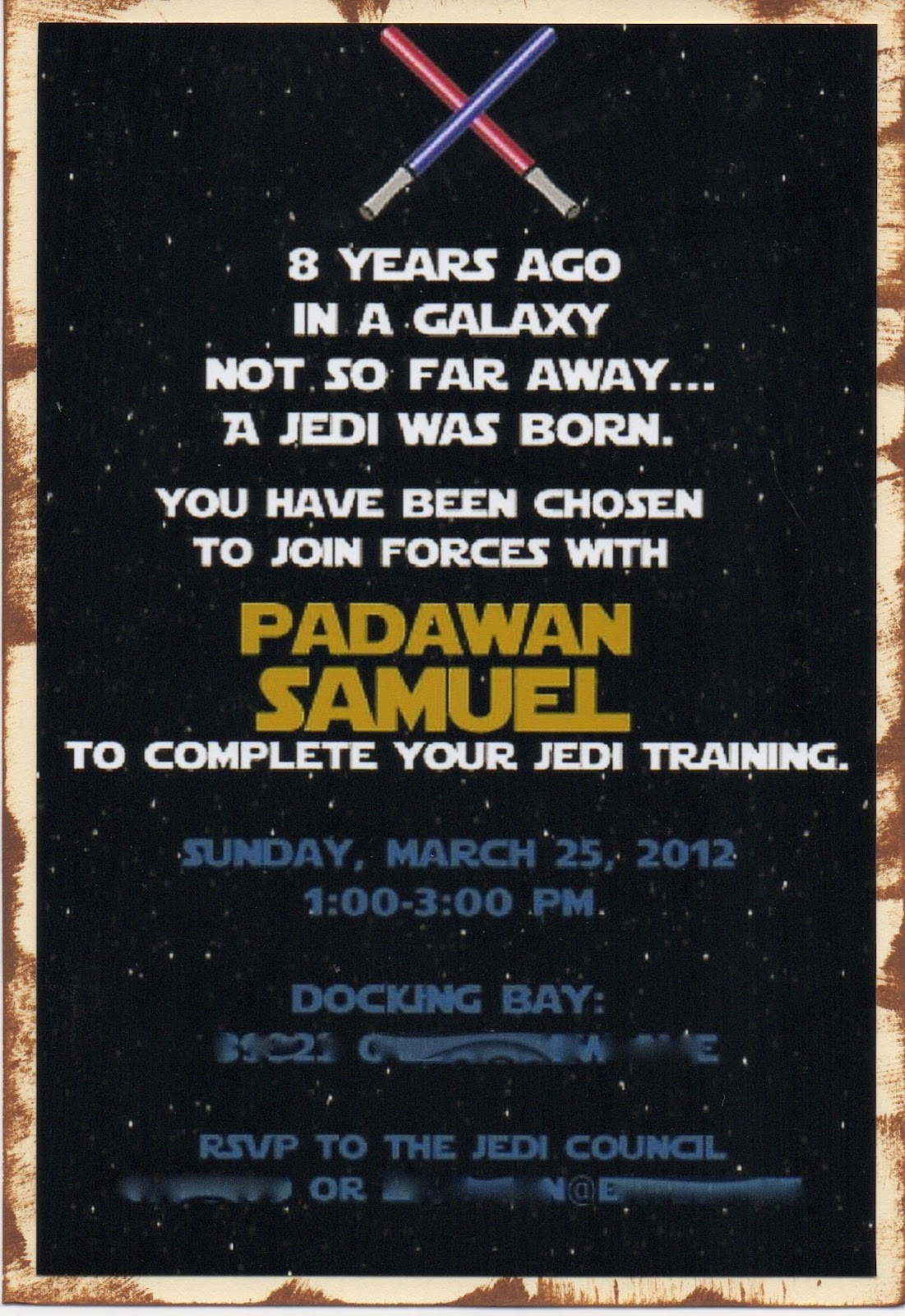 Star Wars Birthday Invites and get inspiration to create nice invitation ideas