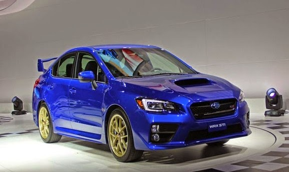 subaru wrx sti sports car in 2015 car magazine road tests. Black Bedroom Furniture Sets. Home Design Ideas