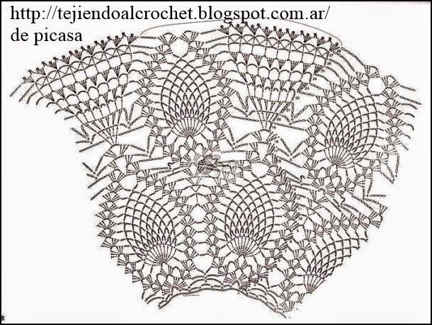 Graficos Gratis de Crochet a Crochet Con su gr Fico