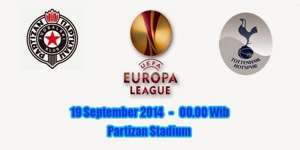 Partizan Belgrade vs Tottenham