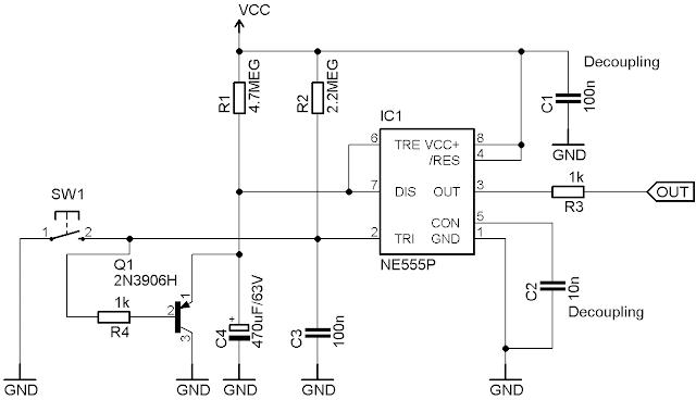 electronics for bharat  retriggerable 555 timing circuit