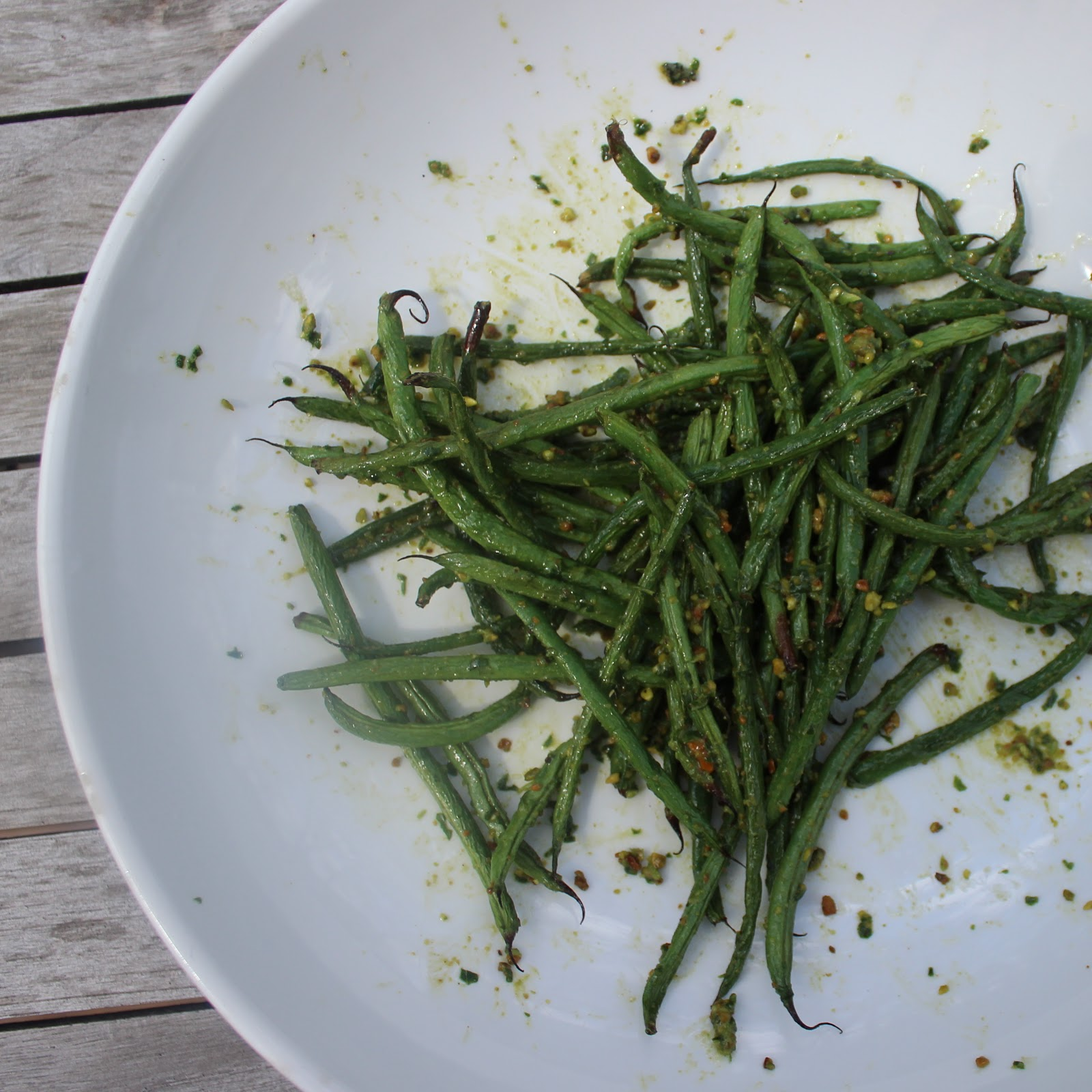 Green Bean Salad With Basil, Balsamic, And Parmesan Recipe ...