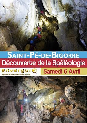 DÉCOUVERTE DE LA SPÉLÉOLOGIE à Saint-Pé-de-Bigorre.