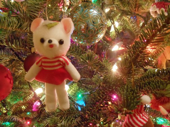Bear Tree Ornament