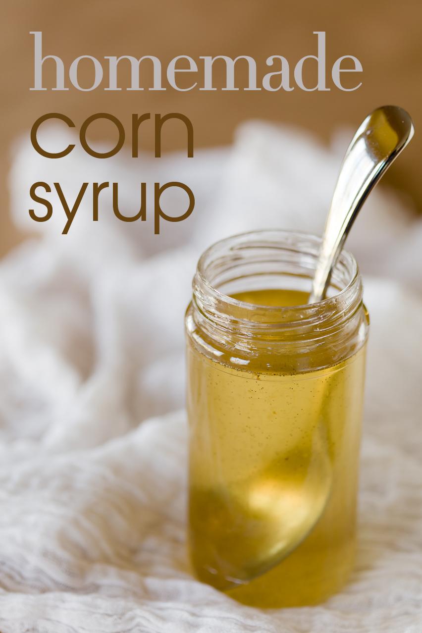 how to make sugar syrup at home