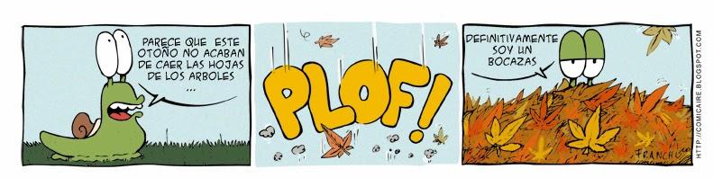 Tira comica del webcomic la tira de cargols