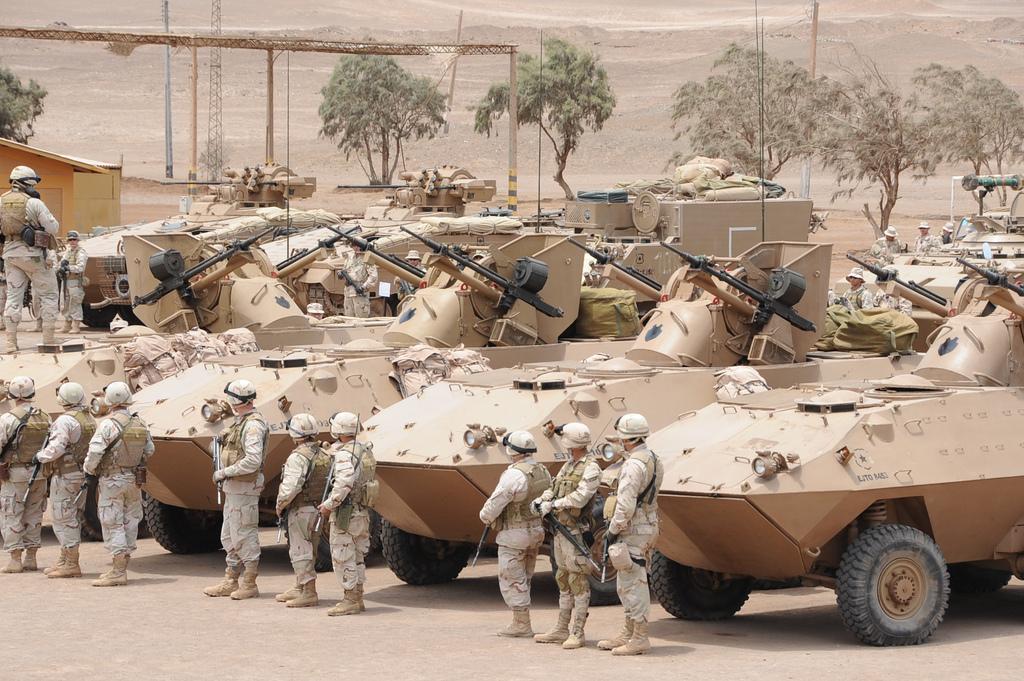 Fuerzas Armadas de Chile 6349831899_4a2f9f8a78_b