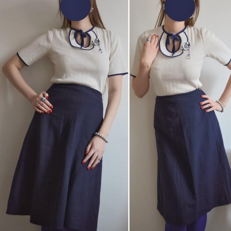 nautical, sailor, navy, blue, white, retro