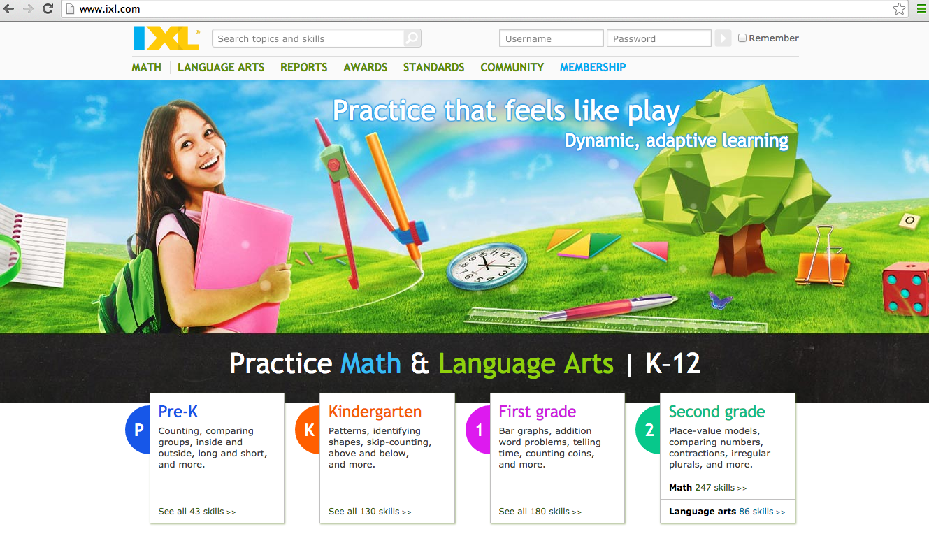1st Grade Tech Trials: IXL and Raz-Kids