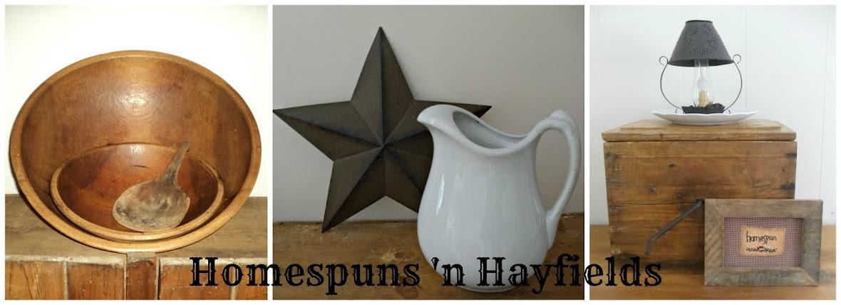 Homespuns 'n Hayfields