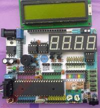 Zestaw startowy (płytka testowa, prototypowa, itp.) oparta o jeden z mikrokontrolerów ATmega8/48/88/168/328