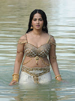 Anushka latest photos from Rudramadevi-cover-photo