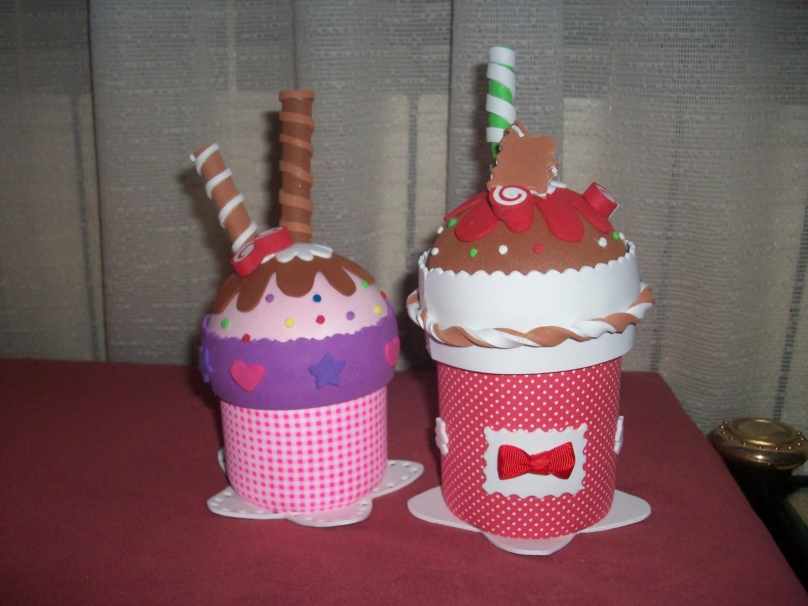 Kokylandia el mundo de las kokuchas botes helado de goma eva for Botes de cocina decorados con goma eva