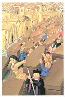 El Desfile_obra de Fernando Botero