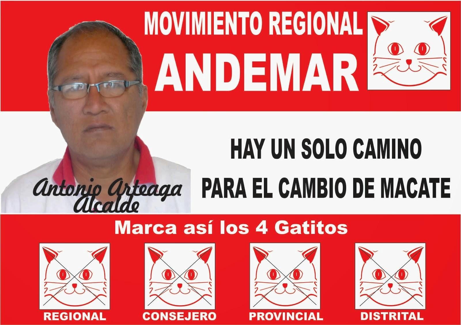 HAY UN SOLO CAMINO PARA EL CAMBIO DE MACATE