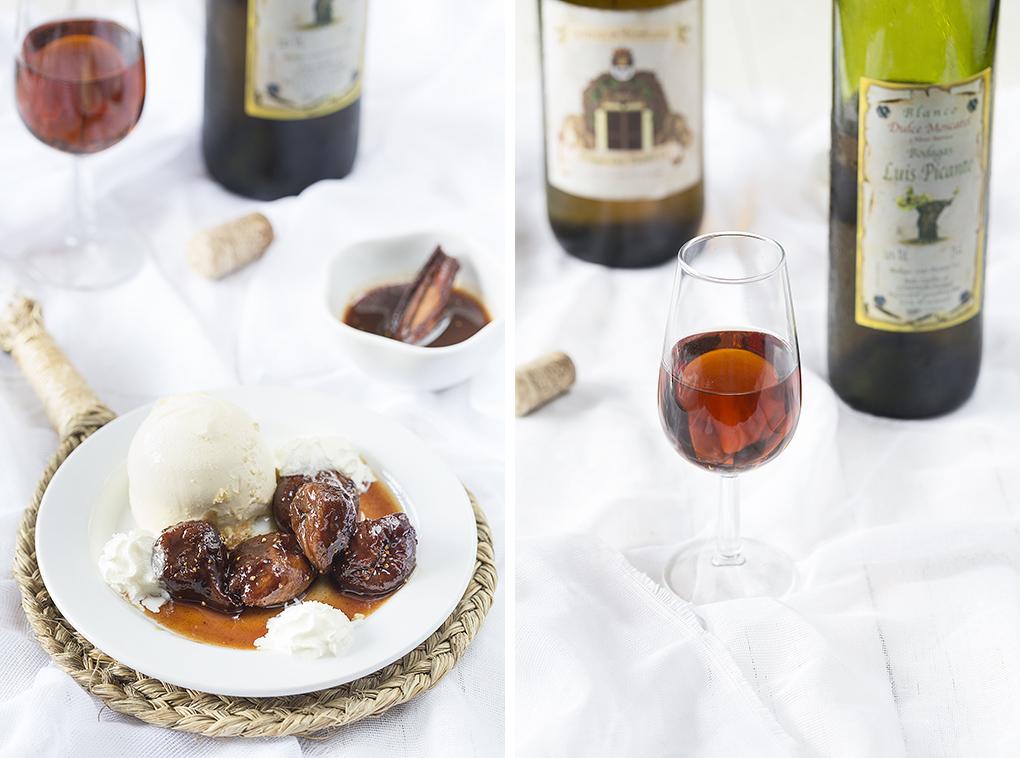 Higos al vino de Cómpeta