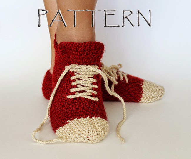 https://www.etsy.com/listing/205602872/pattern-knitted-sneaker-slippers
