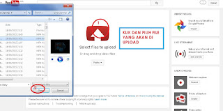 Cara Meng-upload video ke Youtube 3