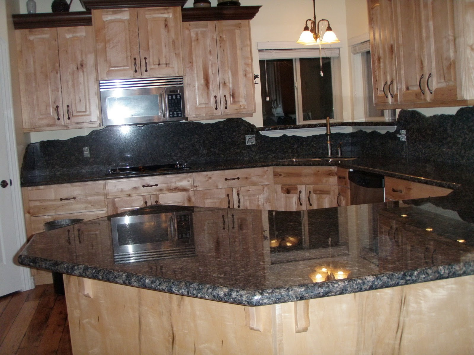 Stone Solutions Granite Unique Backsplash