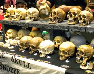 Skulls at Oddmall
