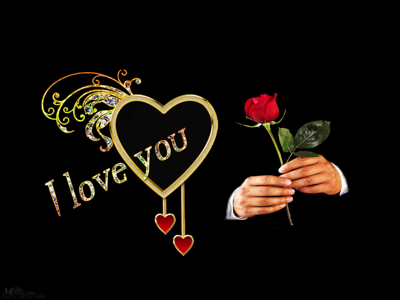 Wallpaper I Love You 3d : stratfordonavon: wallpaper i love you