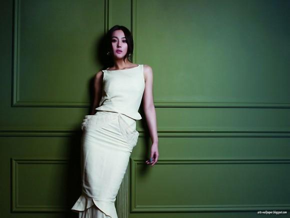 Girls Beauty Wallpaper Zhang Xinyu 07
