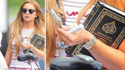 Aktris Lindsay Lohan Dikabarkan Masuk Islam