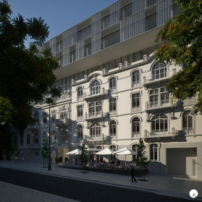 Lx projectos design hotel porto bay liberdade for Design hotel porto