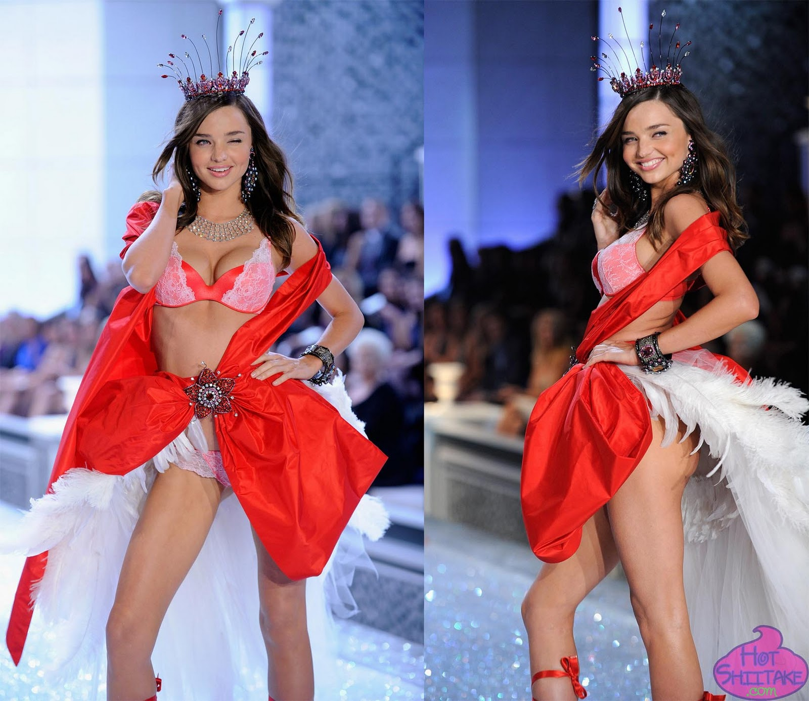 Miranda Kerr Victoria's Secret Fashion Show 2011