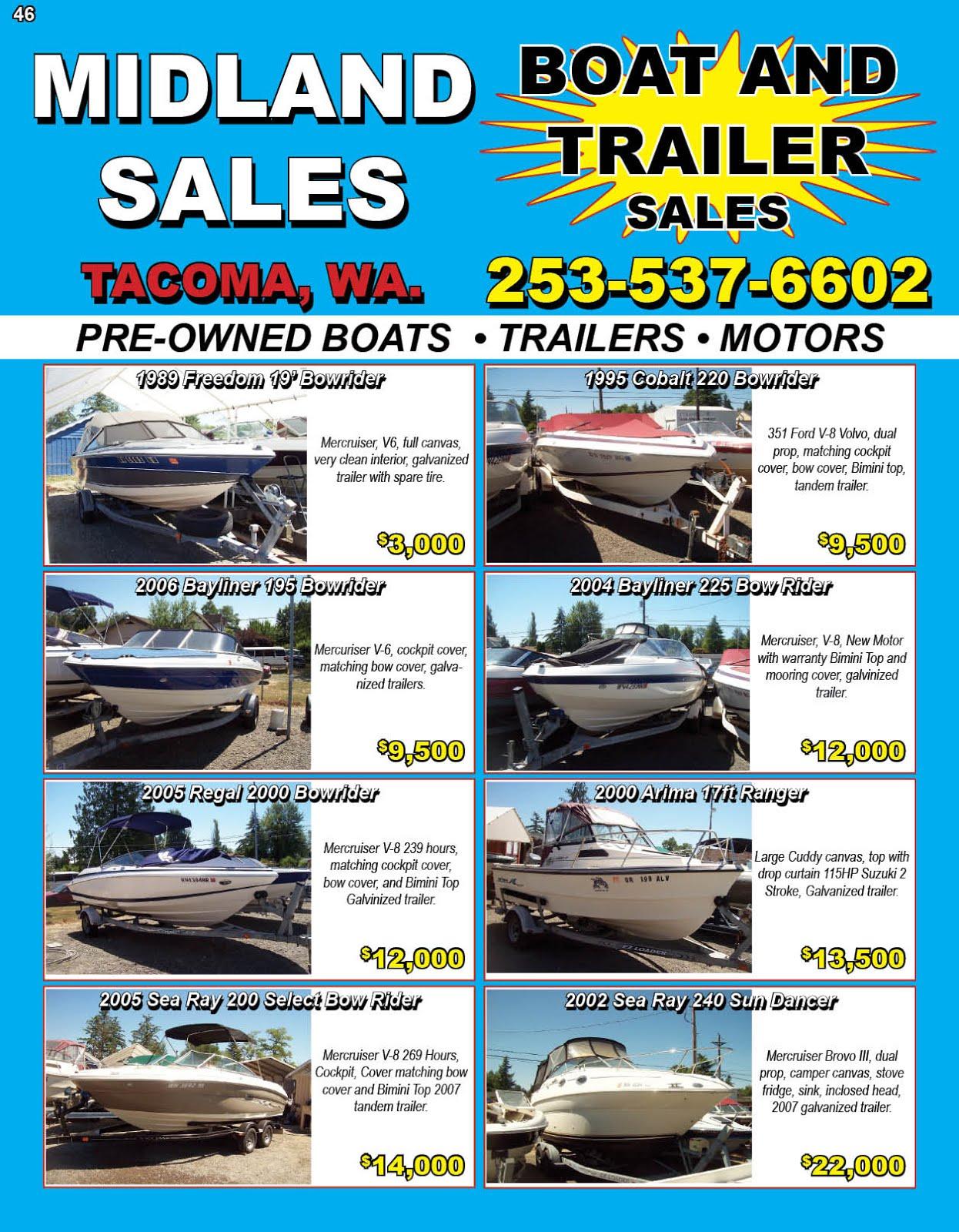 Midland Sales Tacoma, WA 253-537-6602