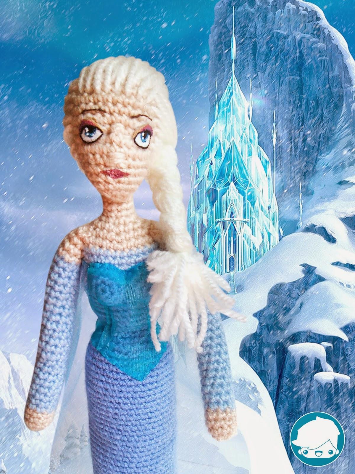 Amigurumi Elsa : Bertorulez: Elsa amigurumi FROZEN