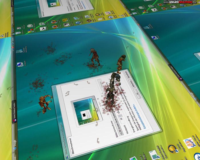 3D Desktop zombies    අමුතු අමුතු screen savers set එකක්...