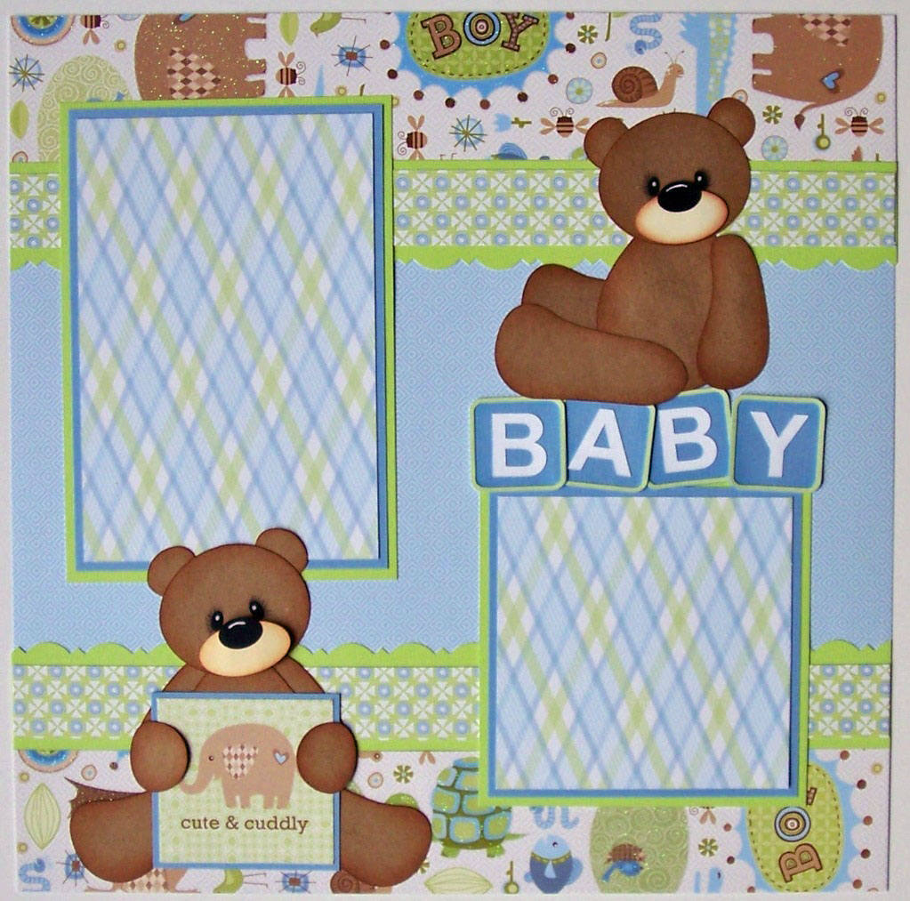 Scrapbook pages baby quotes quotesgram - Scrapbooking idees pages ...