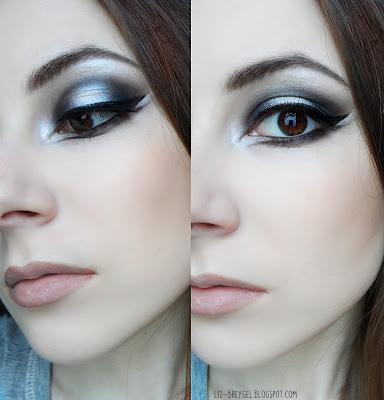 dark gothic smokey eyes halloween with makeup step by step blogger liz breygel makeup 2015