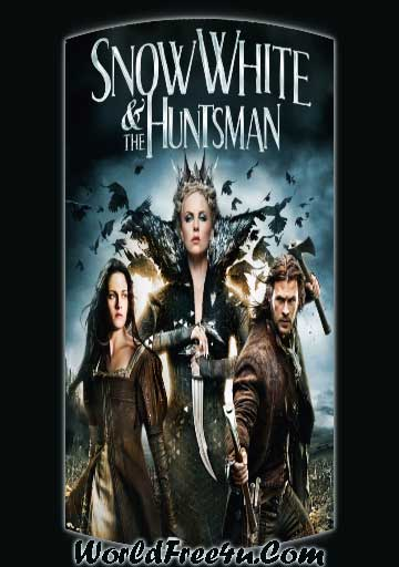 Poster Of Snow White and the Huntsman (2012) Full English Movie Watch Online Free Download At worldfree4u.com