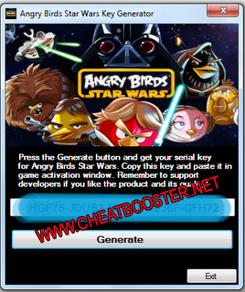 Angry Birds Star Wars FULL Version PC + CD Key Generator