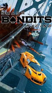 Screenshots of the Smash bandits racing for Android tablet, phone.