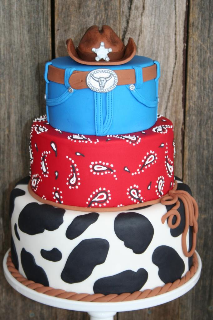 Leonies Cakes and Parties Cowboy Party Ethans 3rd