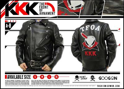 Jaket Crows Zero - TFOA - One Eared Devil Rabbit KKK