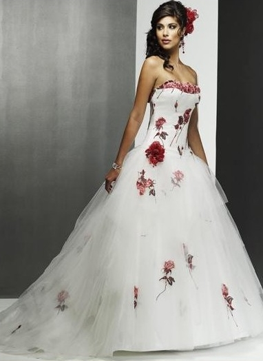 WhiteAzalea Ball Gowns: Ball Gown Wedding Dresses for Red Wedding