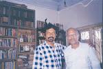Film director Gautam Ghose with Subimal Basak.