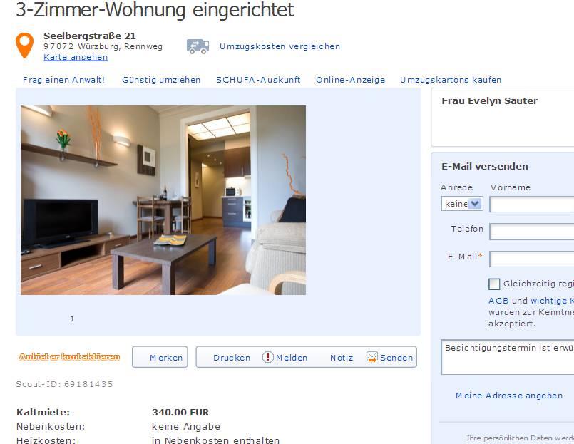 Wohnung Benz Hannover