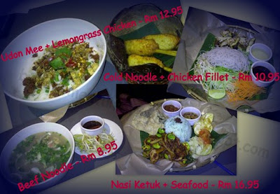 momentum of my life , row six , asean food, best food