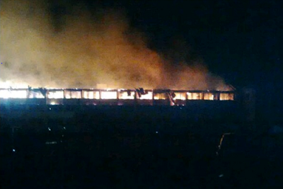 UNN hostel On Fire 4