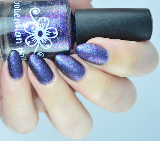 Bohemian Polish Dark Arts & Crafts matte from the Bitchcraft Collection