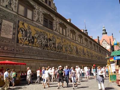 Desfile de los Príncipes (Fürstenzug) de Dresde