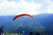 Images of Paragliding Darjeeling