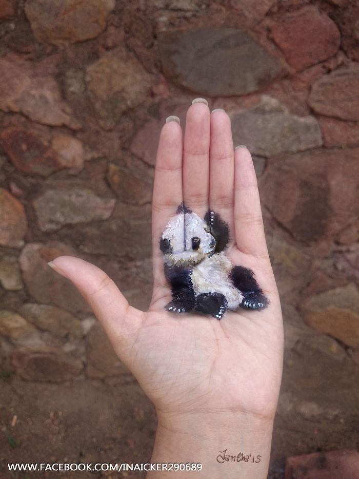 04-Panda-Iantha-Naicker-Luviano-Body-Painting-3D-Animals-and-Objects-on-my-Hand-www-designstack-co