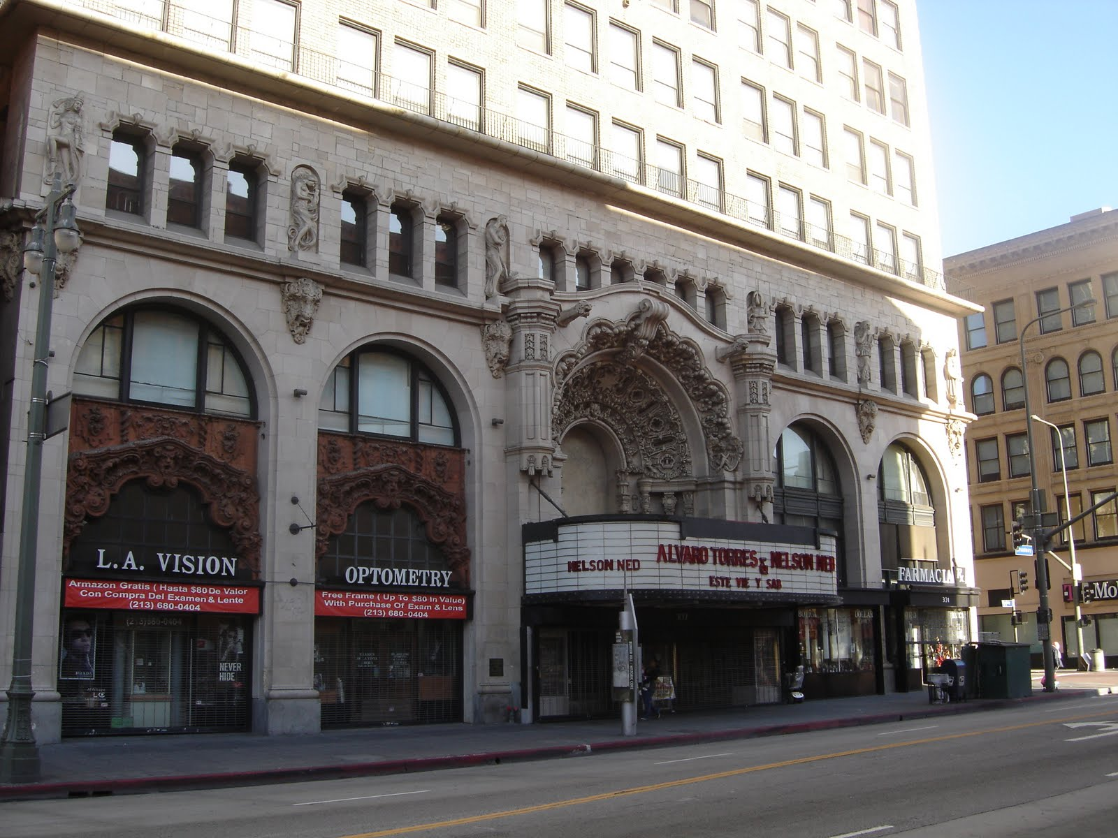 Places To Go Buildings To See Million Dollar Theater