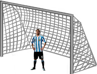 Messi'ye kale büyük!